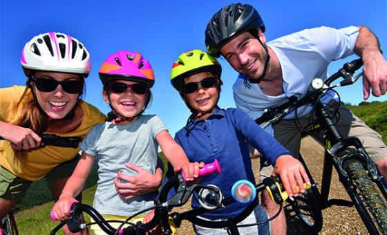 vélo en famille 600x400