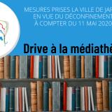 Drive médiathèque jarny