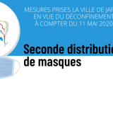 Seconde distribution de masques