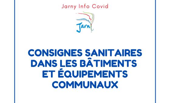 20201022 JARNYINFO COVID consignes sanitaires batiments municipaux