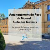 Travaux parc Moncel