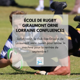 ecole de rugby giraumont